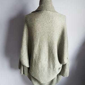 Anthropologie Sweaters - Sleeping on Snow Ruffled Cocoon Cardigan